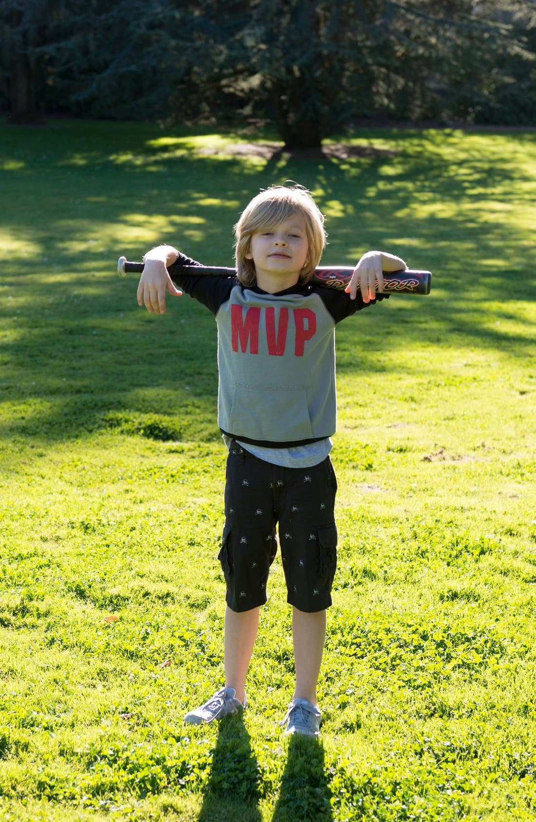 Alternate Image 3  - Peek 'MVP' Hoodie (Toddler Boys, Little Boys & Big Boys)
