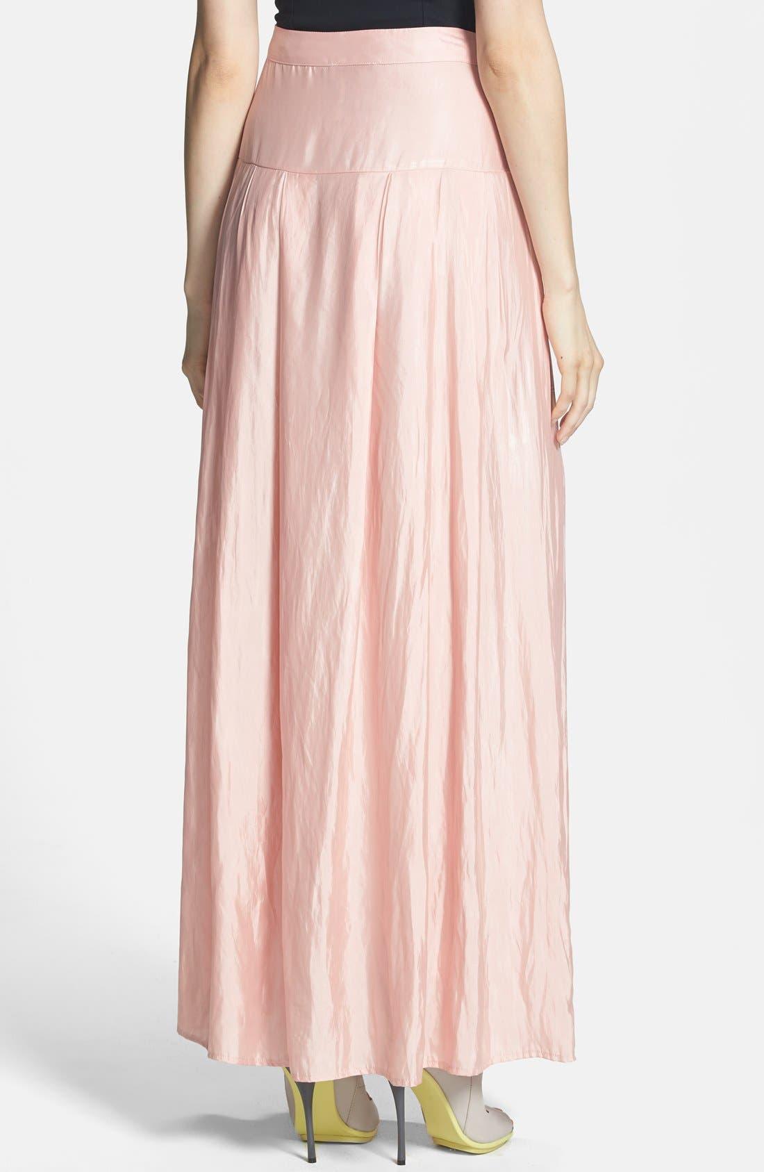 Alternate Image 2  - June & Hudson Woven Maxi Skirt