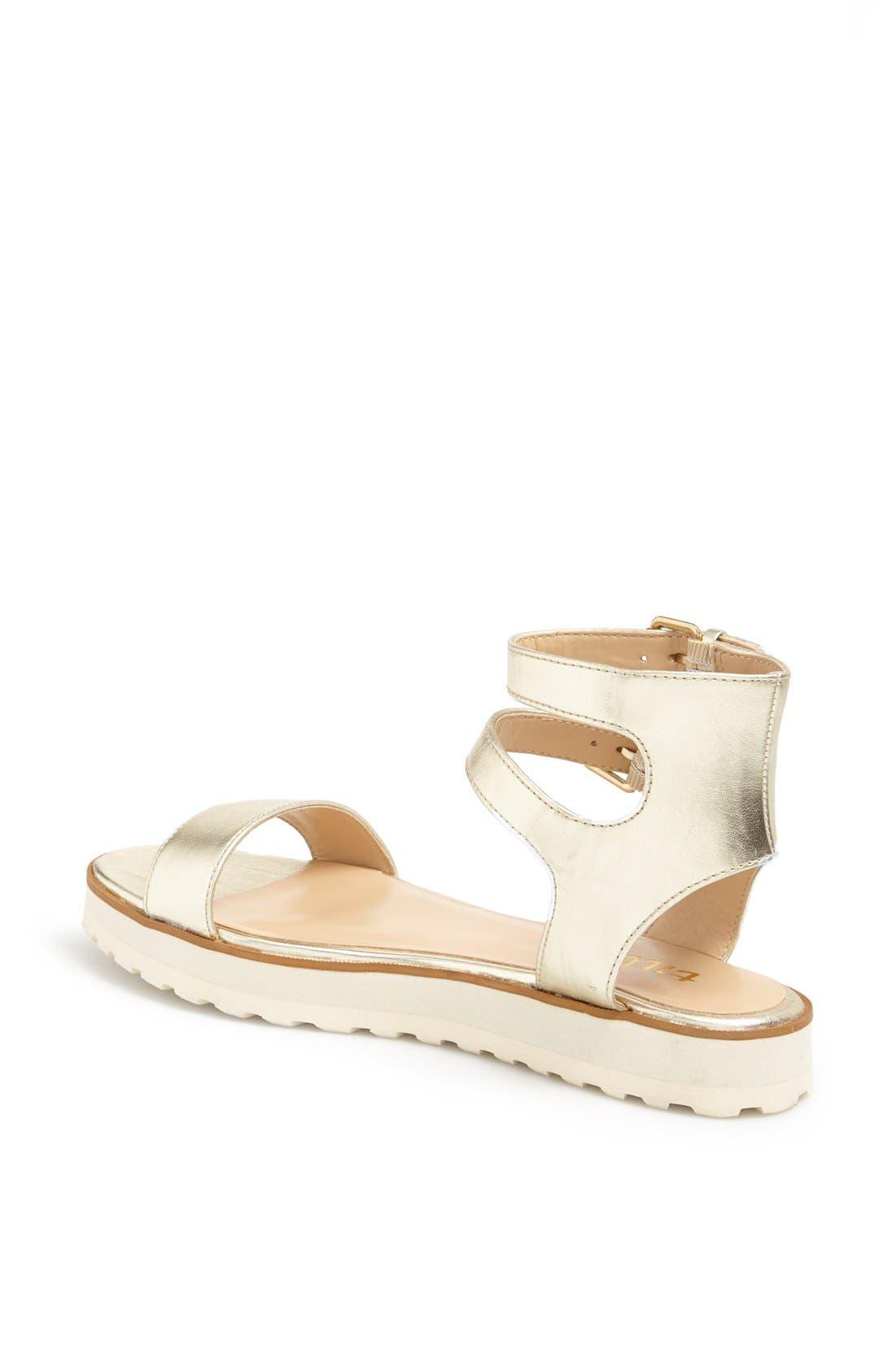 Alternate Image 2  - Tildon 'Manda' Platform Ankle Strap Sandal