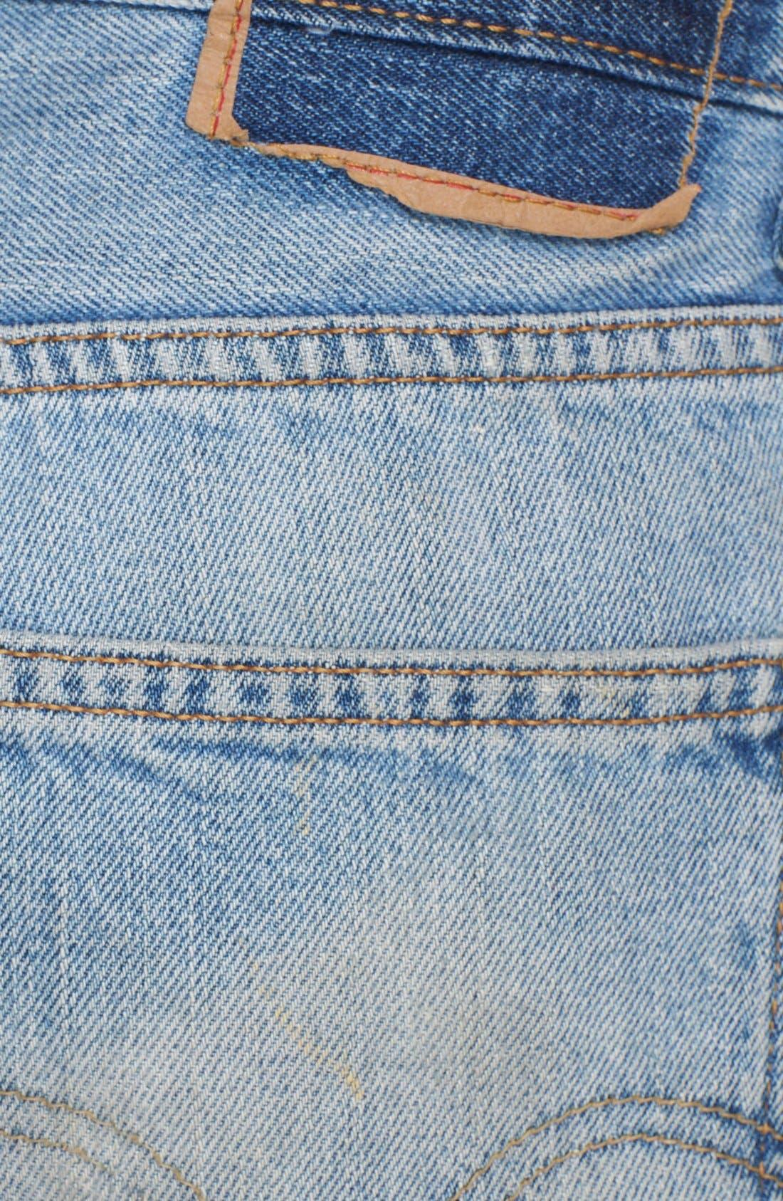 Alternate Image 3  - Free People Boyfriend Cutoff Denim Shorts