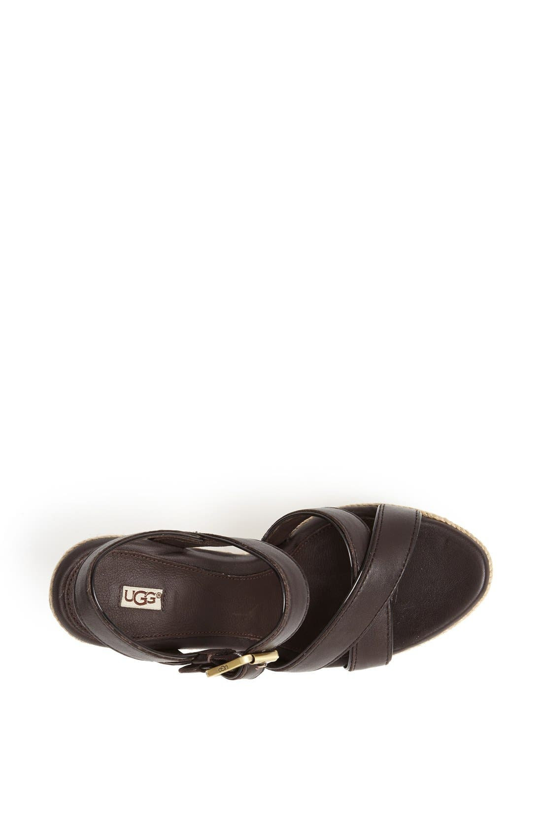 Alternate Image 3  - UGG® Australia 'Jackilyn' Sandal (Women)