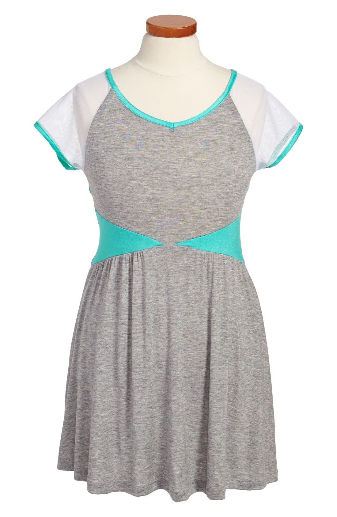 Alternate Image 1 Selected - Sally Miller Cutout Dress (Big Girls)