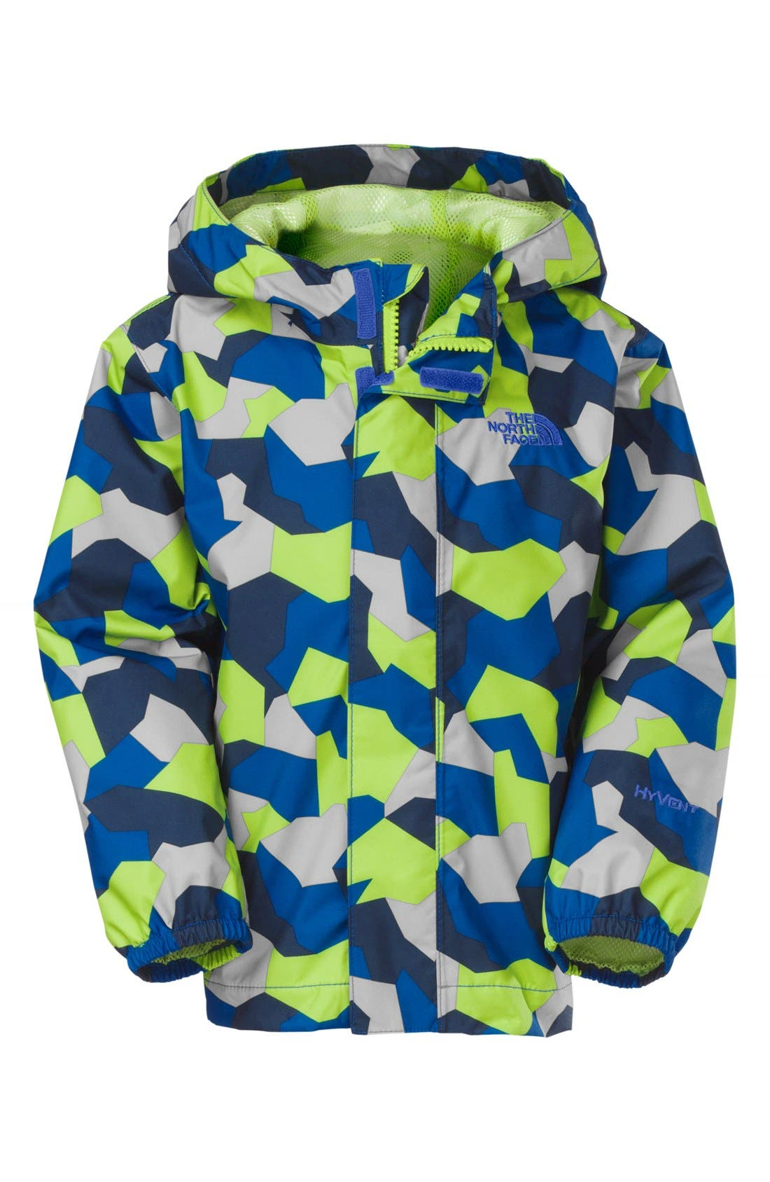 Alternate Image 1 Selected - The North Face 'Campcam' Hooded Rain Jacket (Toddler Boys)