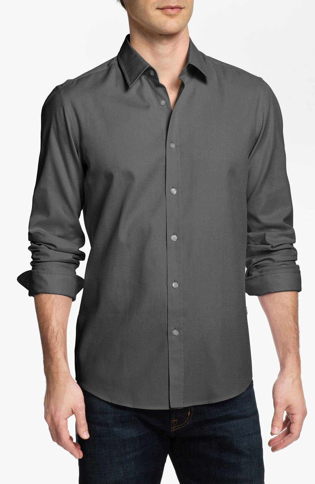 Main Image - BOSS HUGO BOSS 'Lucas' Regular Fit Sport Shirt