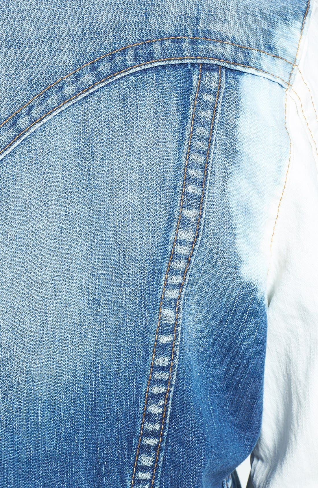 Alternate Image 3  - True Religion Brand Jeans 'Jimmy' Trim Fit Washed Denim Jacket
