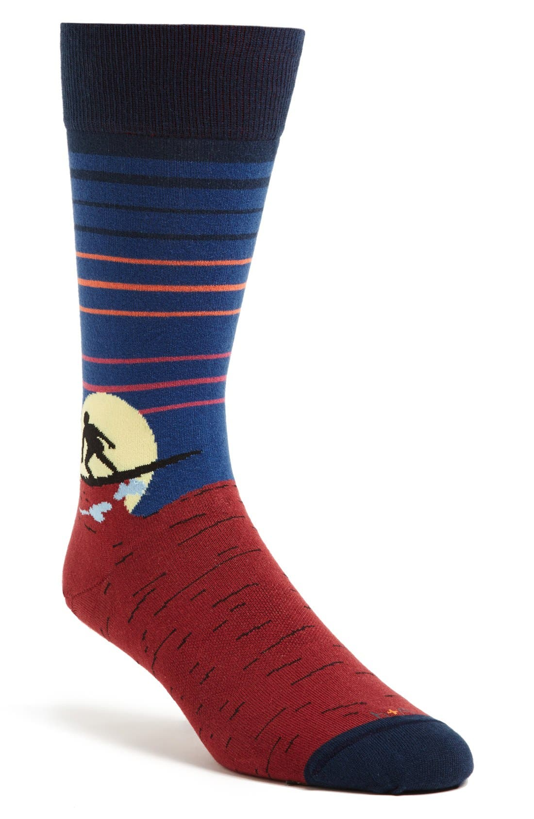 Main Image - hook + ALBERT 'Carving 360' Socks
