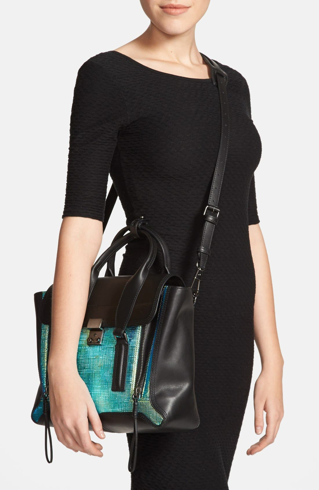 Alternate Image 2  - 3.1 Phillip Lim 'Medium Pashli' Iridescent Satchel