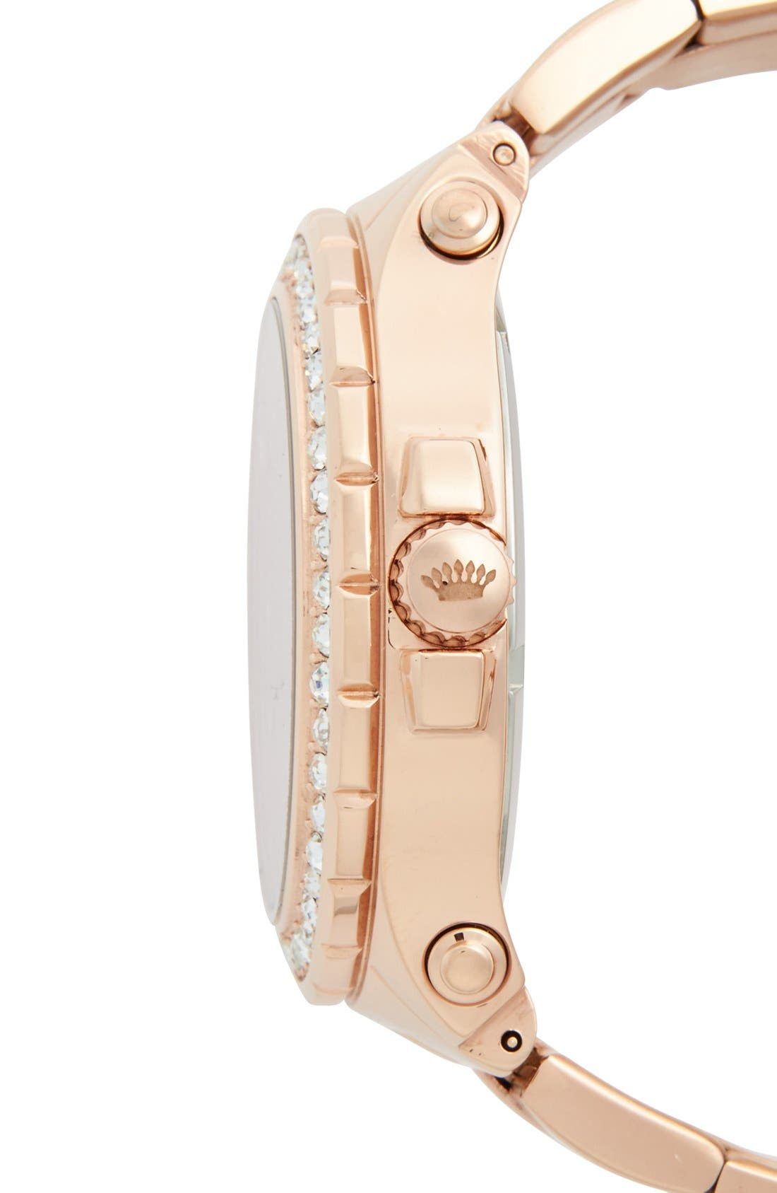 Alternate Image 3  - Juicy Couture 'Pedigree' Multifunction Bracelet Watch, 42mm