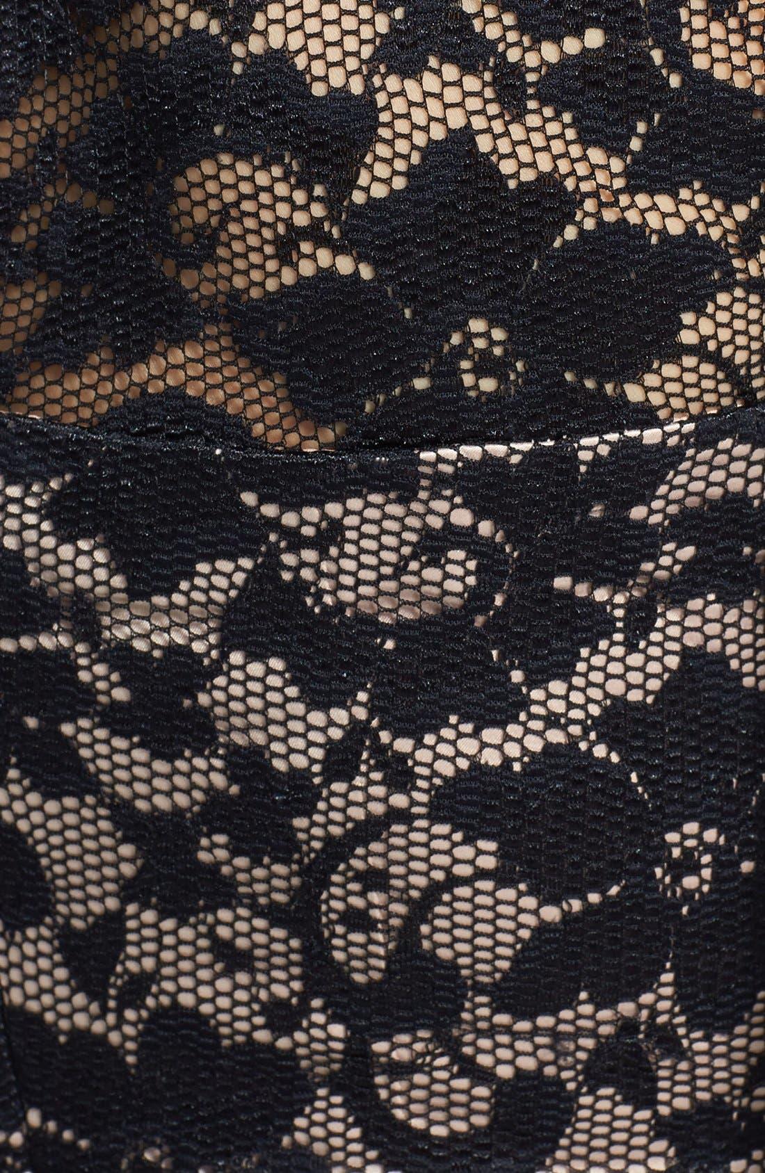 Alternate Image 3  - Eliza J Embellished Lace Gown