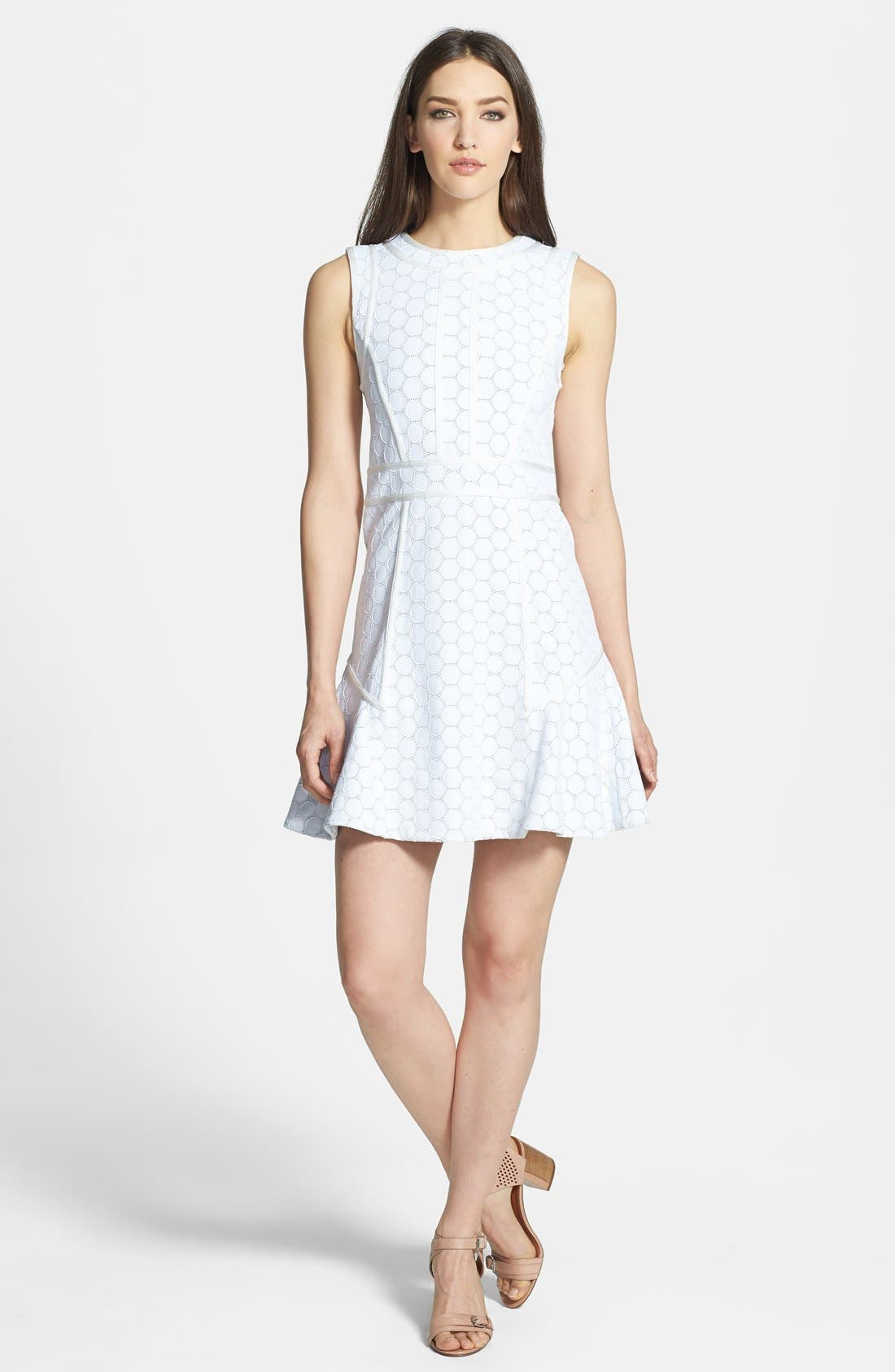 Alternate Image 1 Selected - MARC BY MARC JACOBS 'Leyna Dotty' Dress