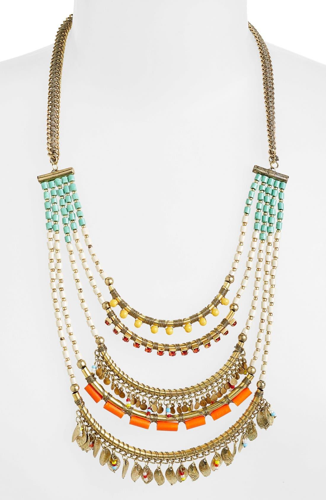 Alternate Image 2  - Spring Street Beaded Multistrand Necklace