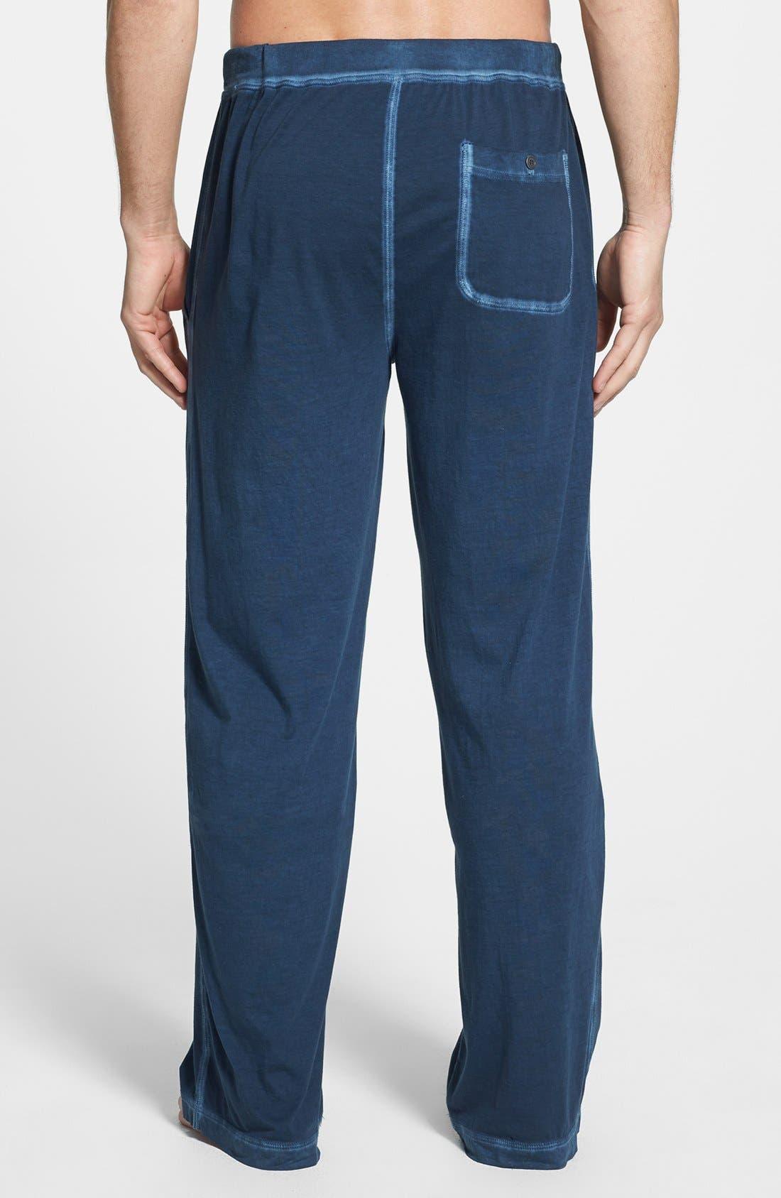Alternate Image 2  - Daniel Buchler Peruvian Pima Cotton Lounge Pants
