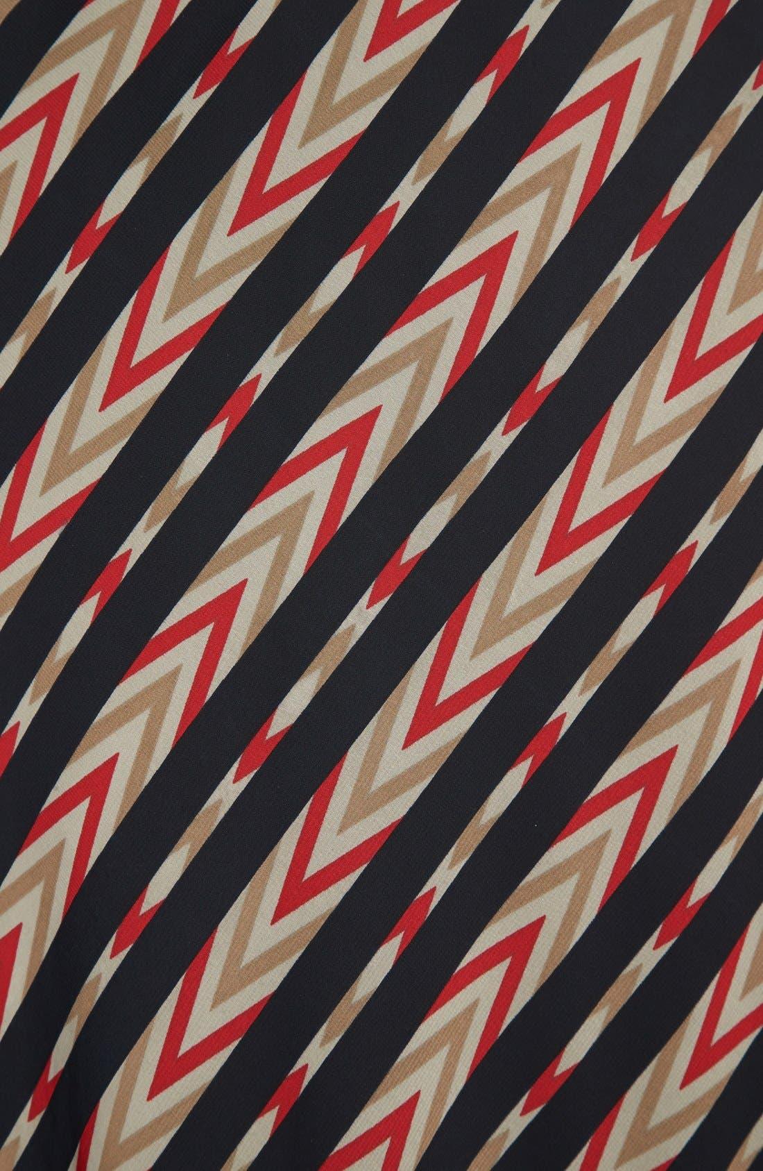 Alternate Image 3  - Pleione Stripe Print Maxi Skirt