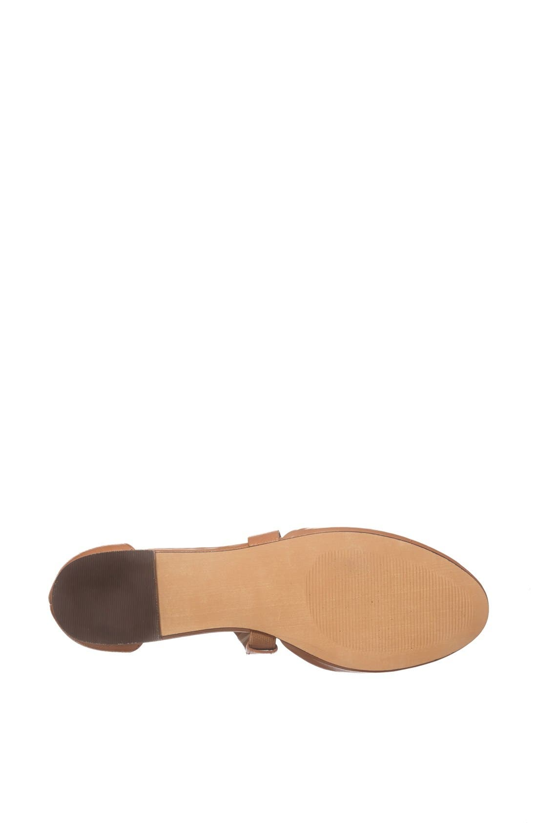 Alternate Image 4  - Julianne Hough for Sole Society 'Ananda' Leather Flat