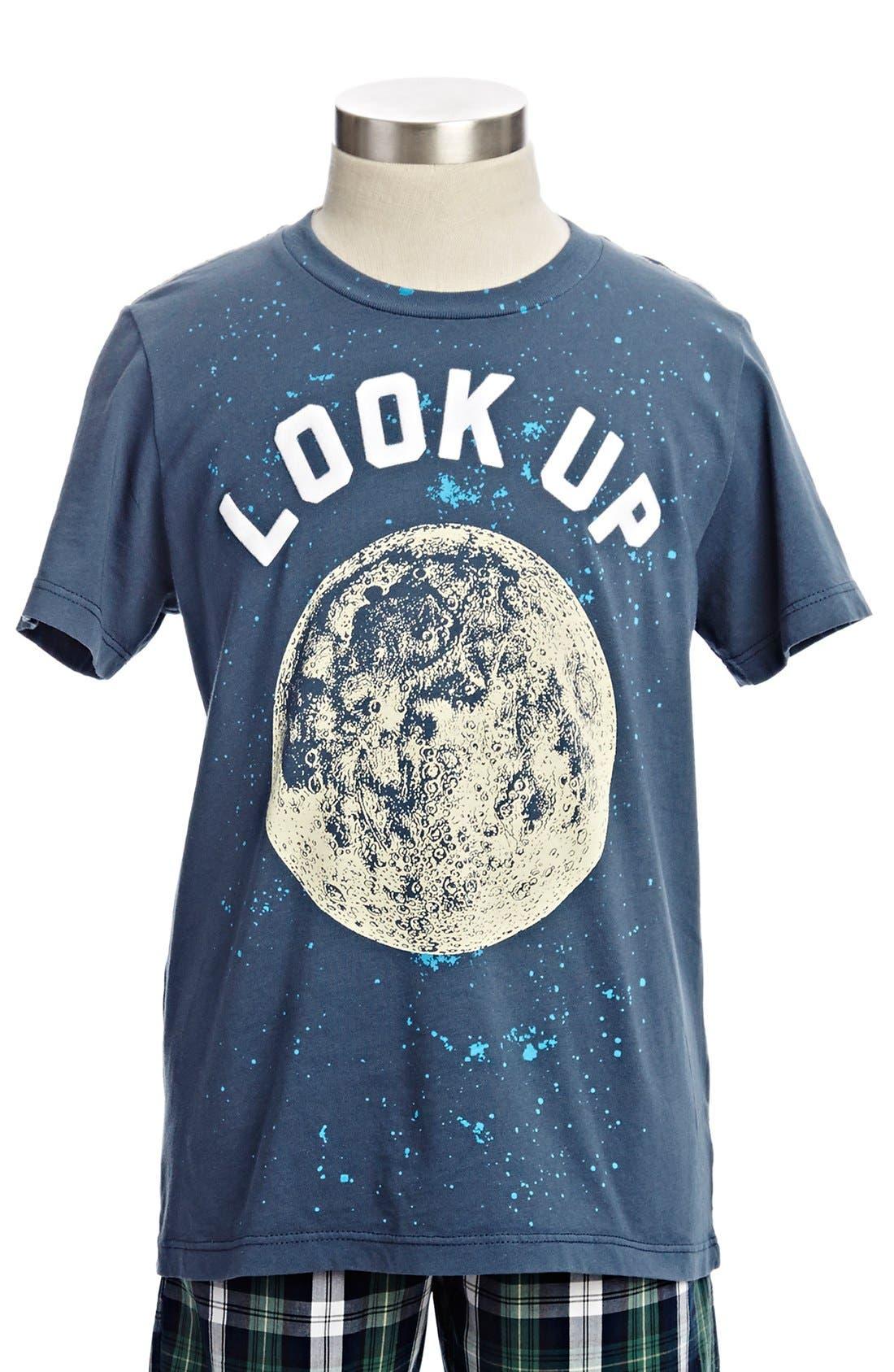 Alternate Image 1 Selected - Peek 'Look Up' T-Shirt (Toddler Boys, Little Boys & Big Boys)