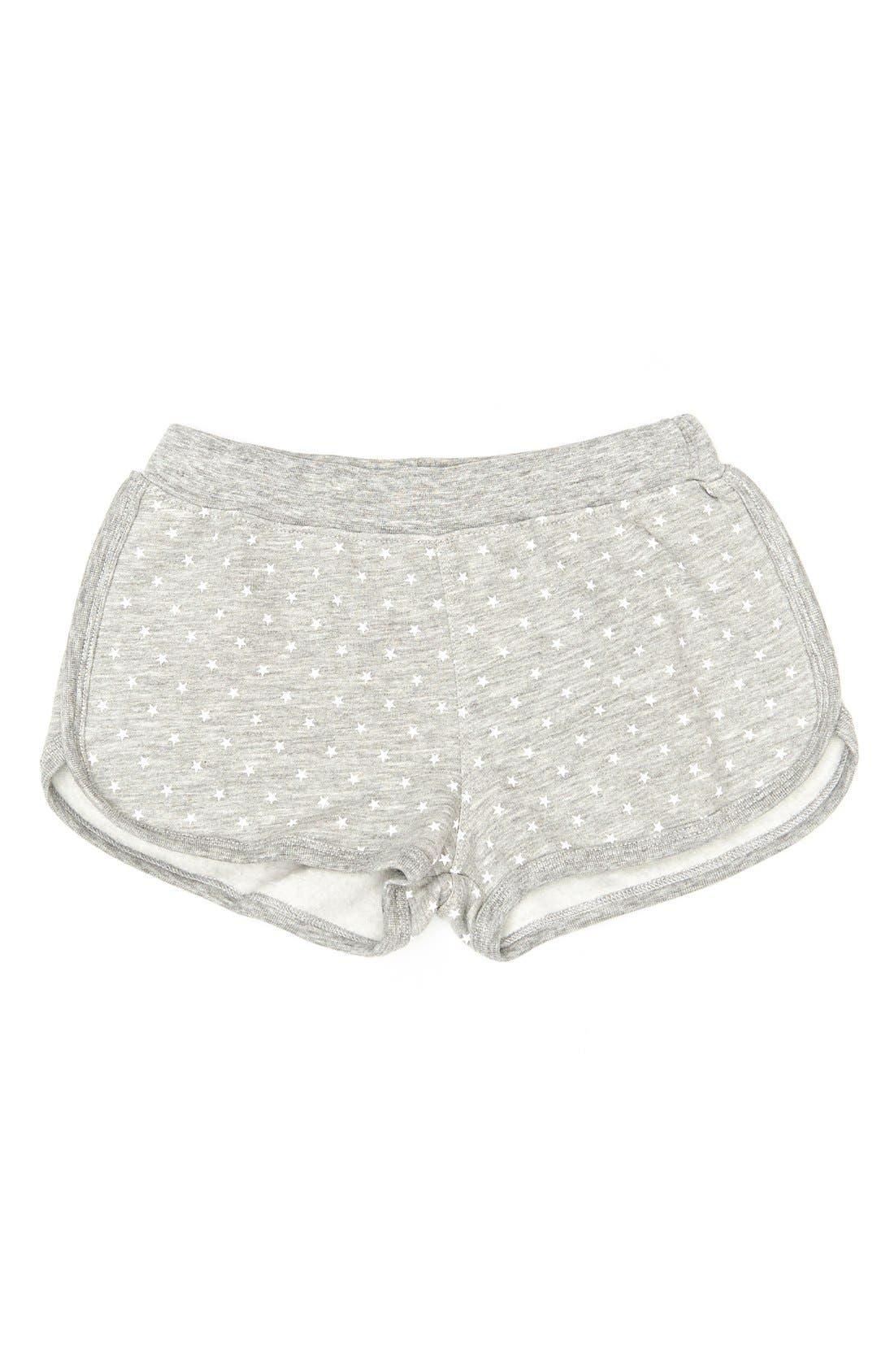 Alternate Image 1 Selected - Peek 'Mimi' Star Print Dolphin Shorts (Toddler Girls, Little Girls & Big Girls)