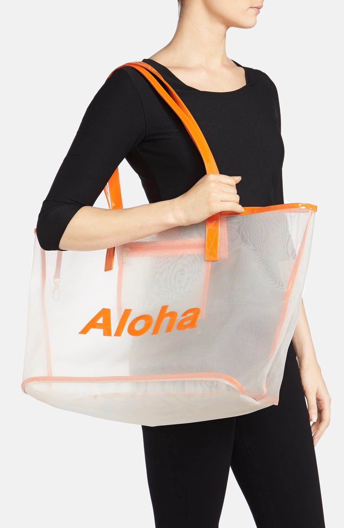 Alternate Image 2  - Lolo 'Madison - Aloha' Mesh Tote