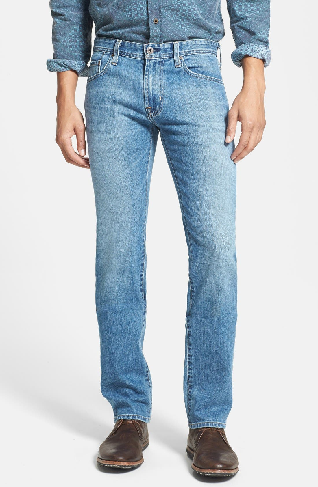 Alternate Image 1 Selected - AG 'Matchbox' Slim Fit Jeans (Swift)