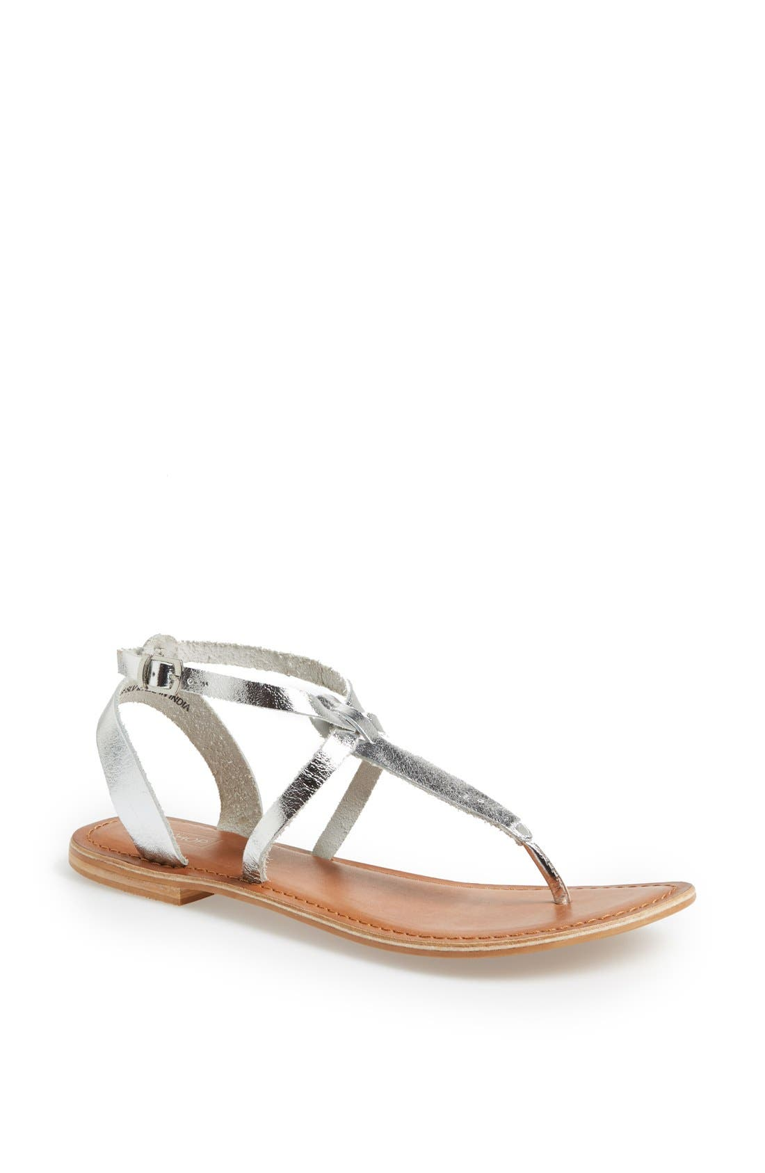 Alternate Image 1 Selected - Topshop 'Horizon' Leather Sandal