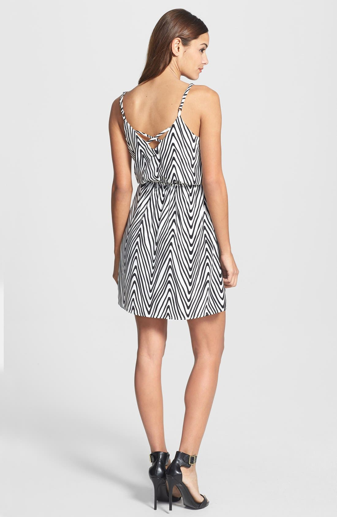 Alternate Image 2  - Dex Zigzag Print Dress