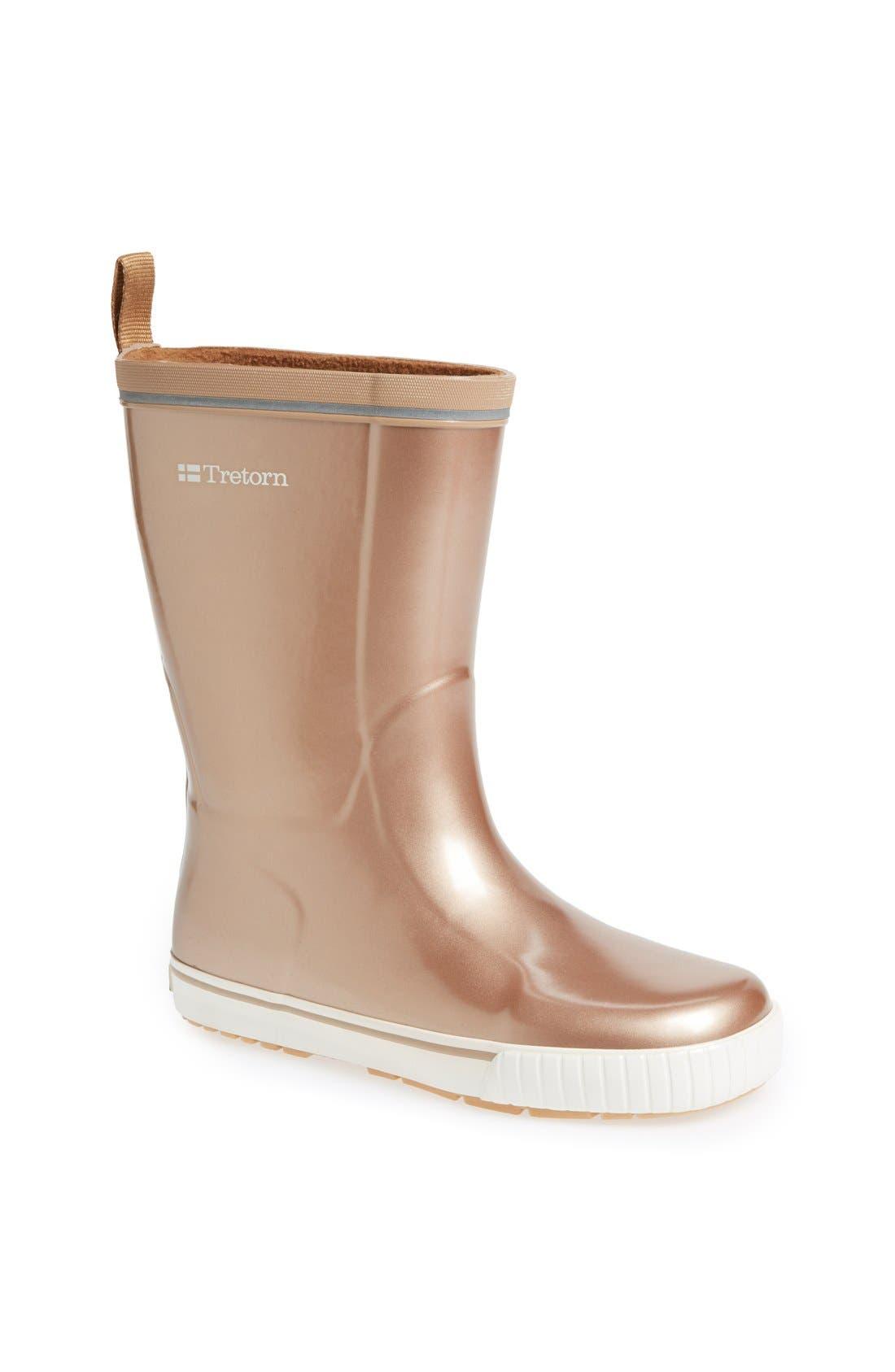 Alternate Image 1 Selected - Tretorn 'Skerry Metallic' Rain Boot (Women)