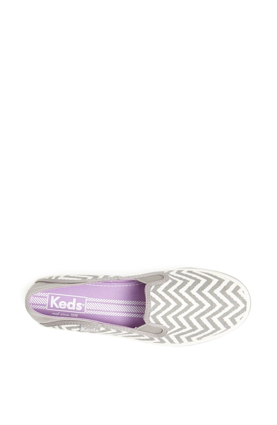 Alternate Image 3  - Keds® 'Crash Back - Zigzag' Canvas Slip-On Sneaker (Women)