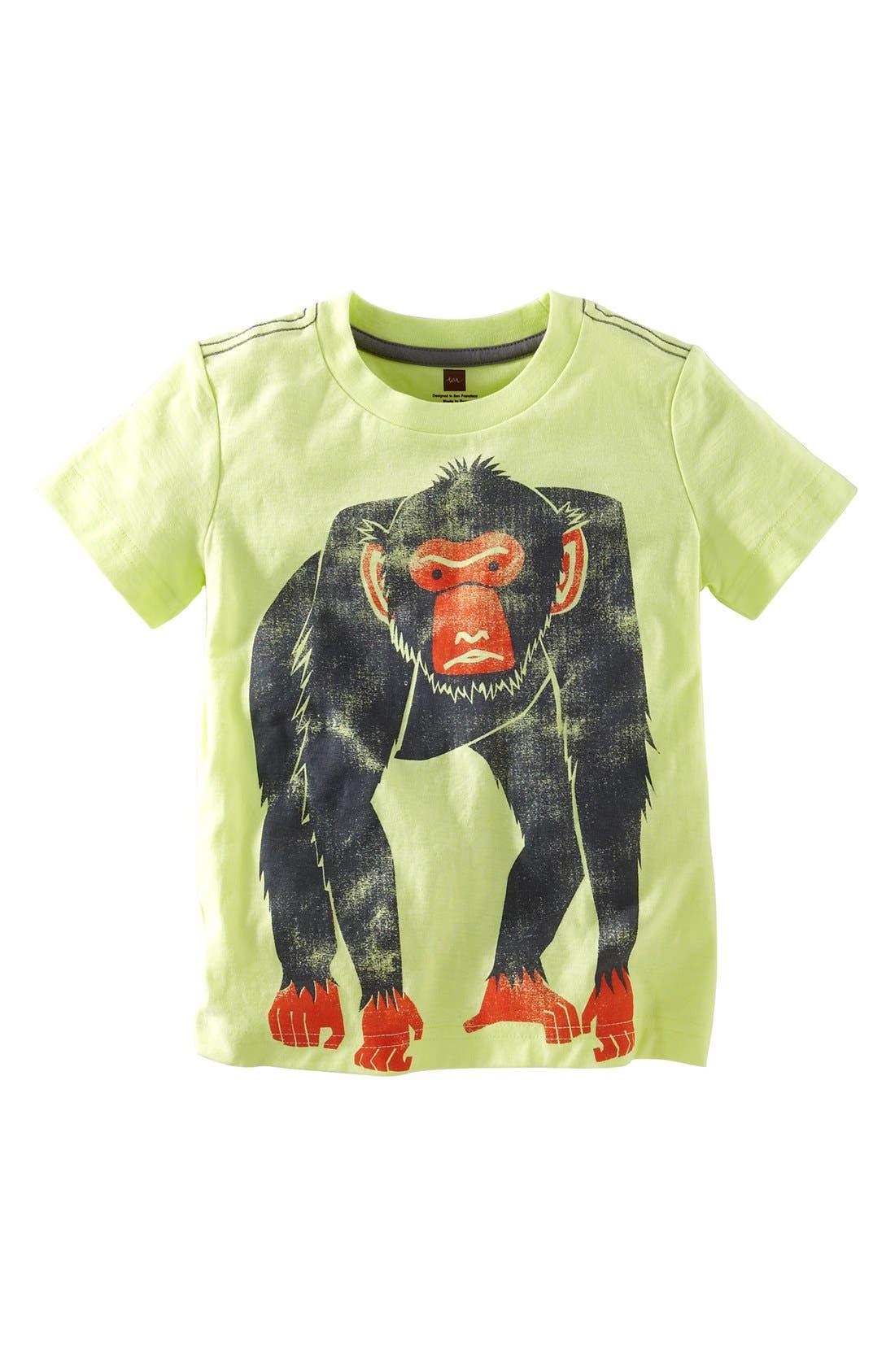 Main Image - Tea Collection 'Barbary Ape' Graphic T-Shirt (Little Boys & Big Boys)
