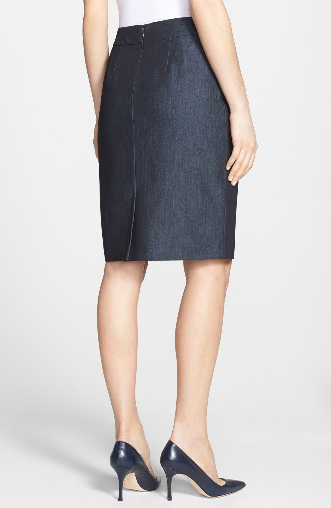 Alternate Image 2  - Jones New York 'Lucy - Seasonless Stretch' Pencil Skirt