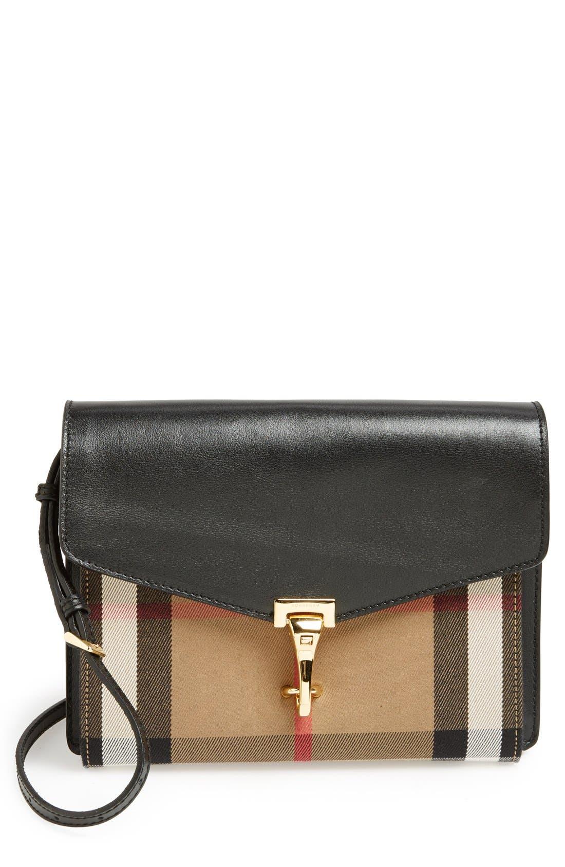 Alternate Image 1 Selected - Burberry 'Small Macken' Crossbody Bag