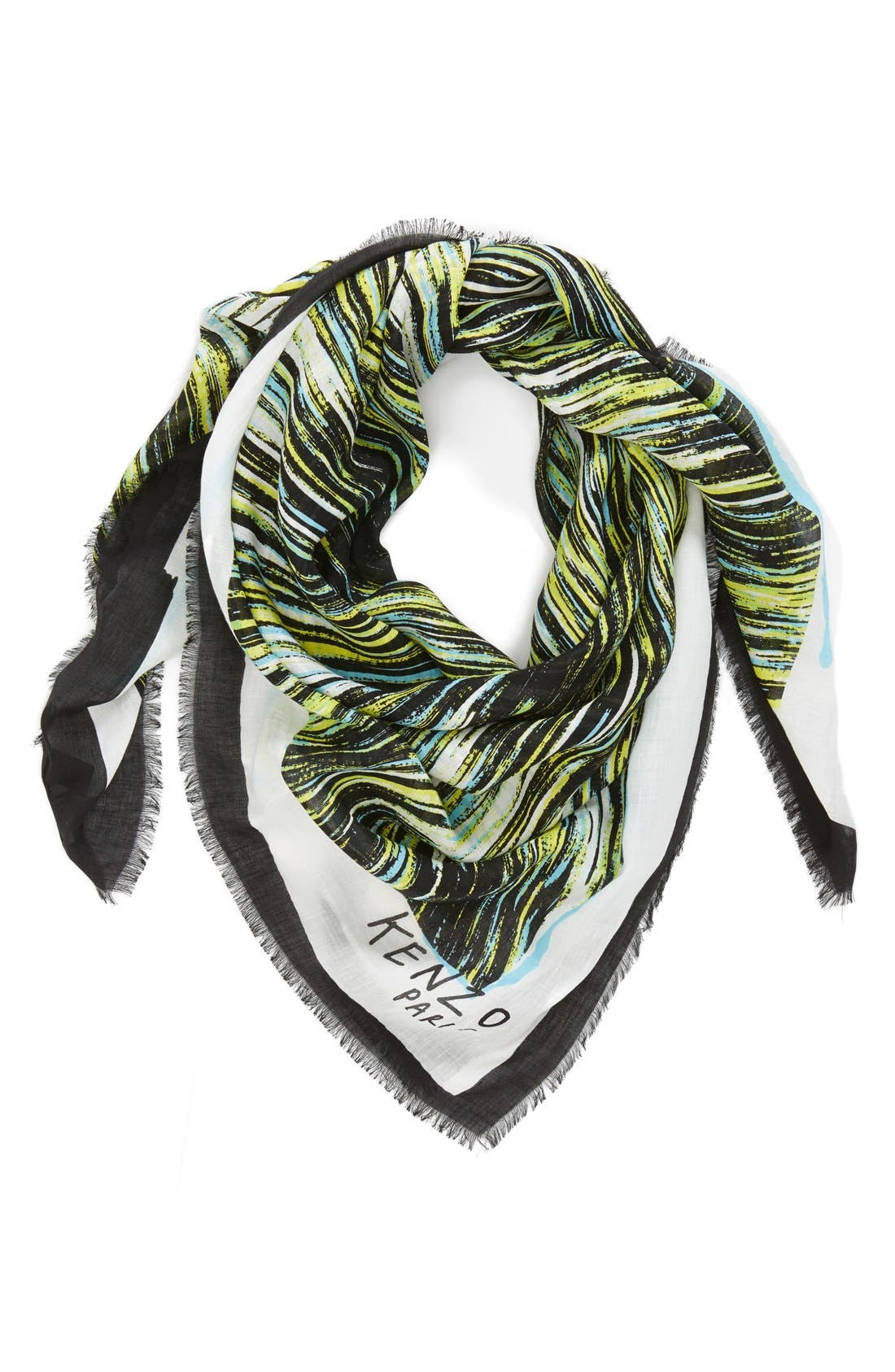 Main Image - KENZO 'High Waves' Print Wrap