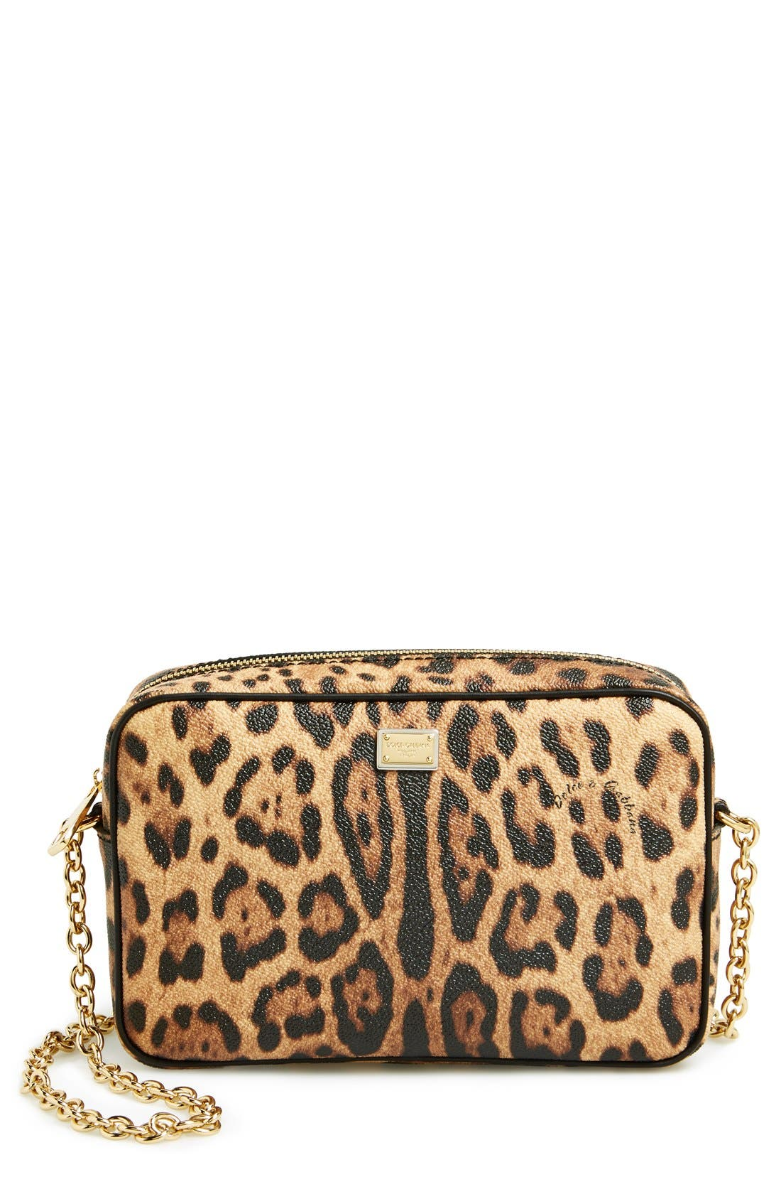 Alternate Image 1 Selected - Dolce&Gabbana 'Miss Cleo - Box' Crossbody Bag