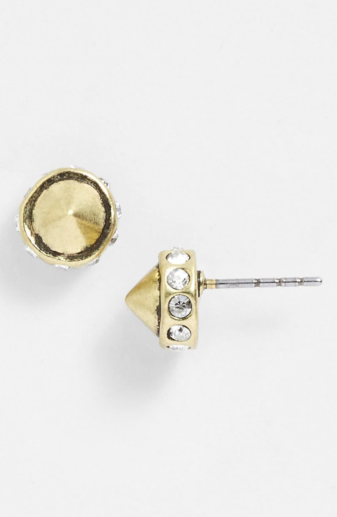 Alternate Image 1 Selected - Rebecca Minkoff 'Earth Eclectic' Cone Stud Earrings