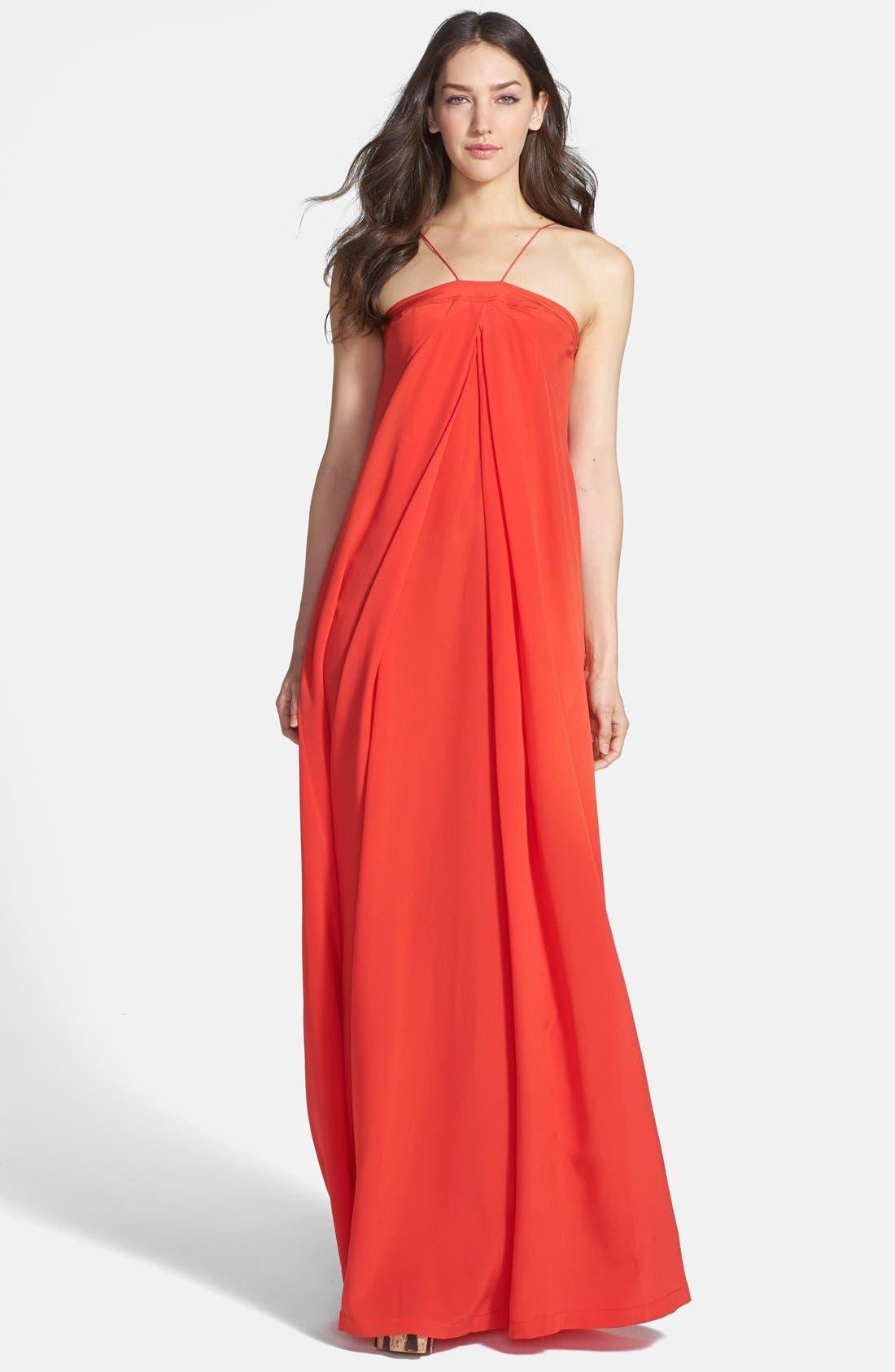 Alternate Image 1 Selected - Diane von Furstenberg 'Annie' Silk Maxi Dress