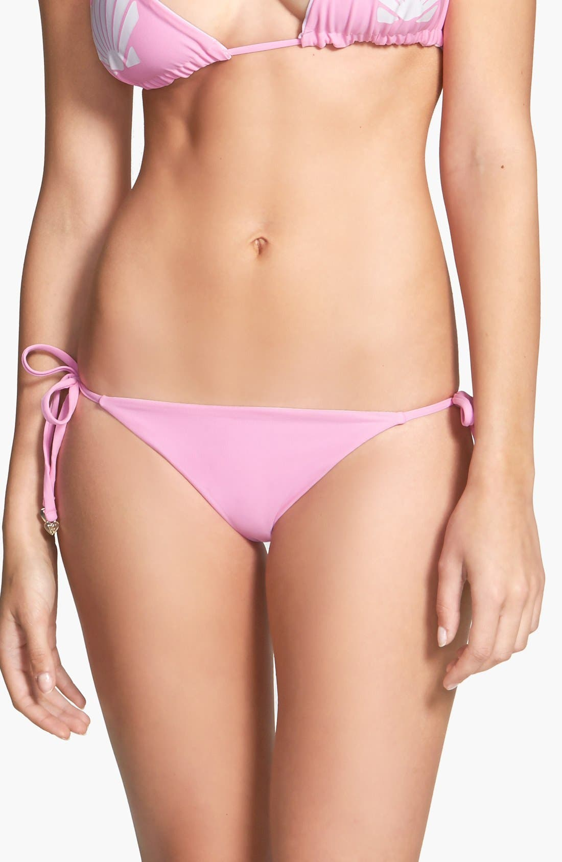 Alternate Image 1 Selected - Wildfox 'Shelly' Reversible Side Tie Bikini Bottoms