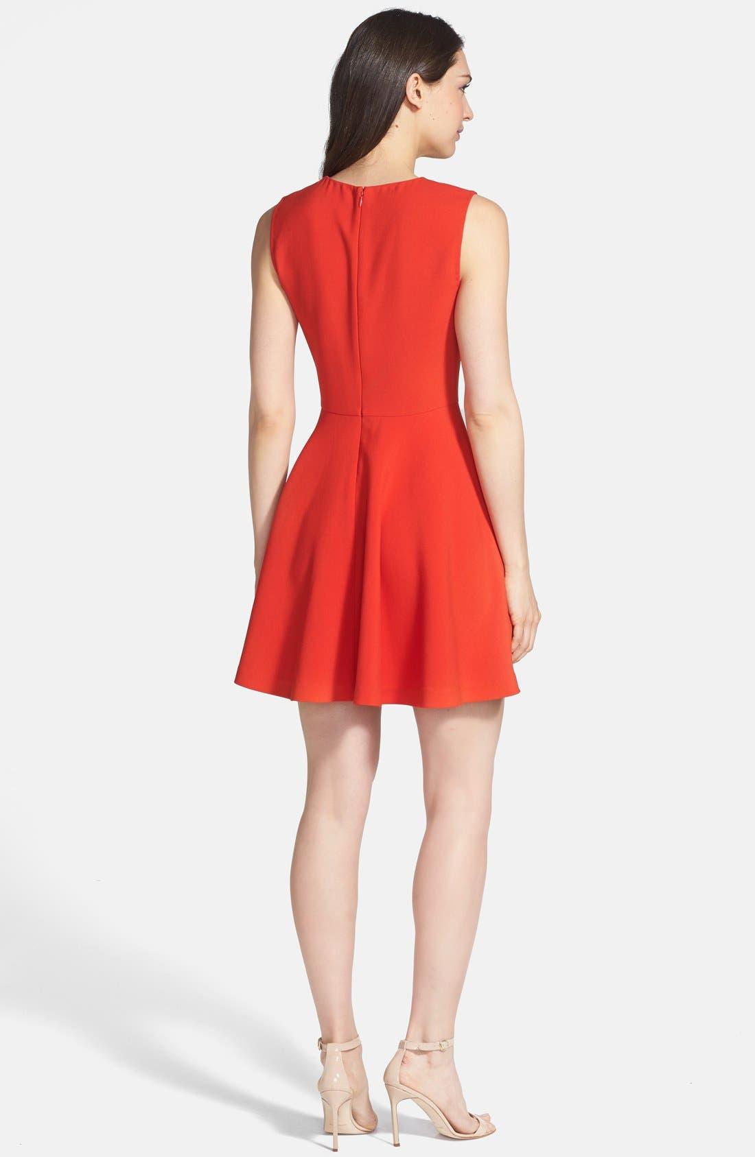 Alternate Image 2  - Diane von Furstenberg 'Jeannie' Stretch Fit & Flare Dress
