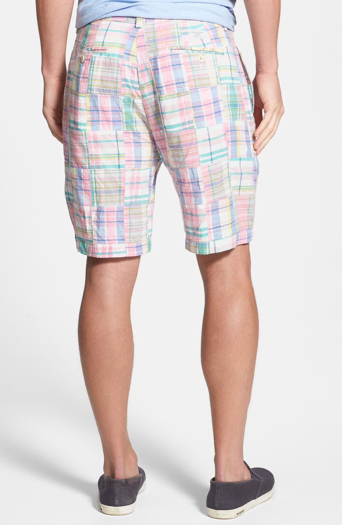 Alternate Image 2  - Vineyard Vines Classic Fit Madras Shorts