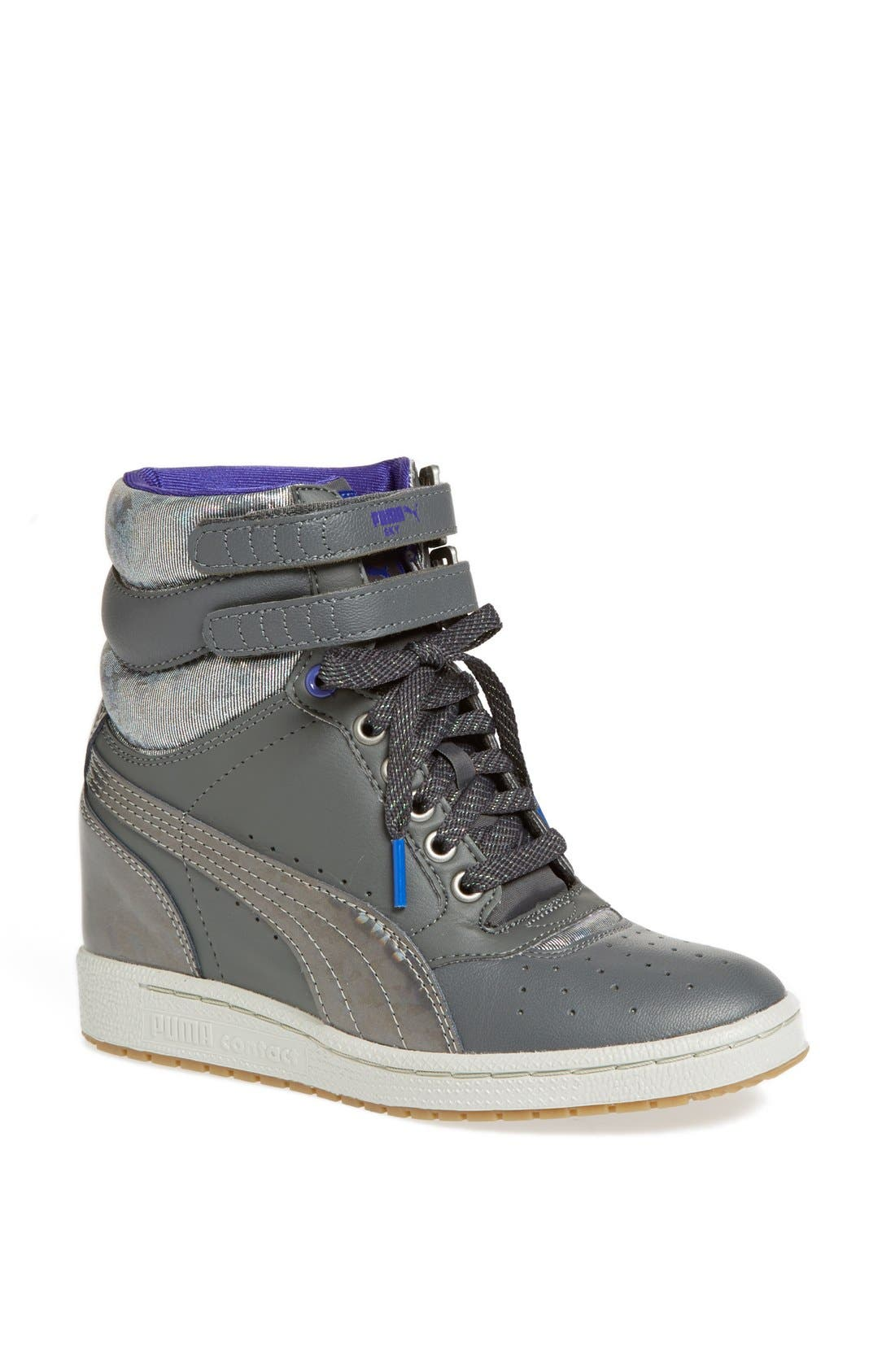 Alternate Image 1 Selected - PUMA 'Sky Wedge' Sneaker (Women)