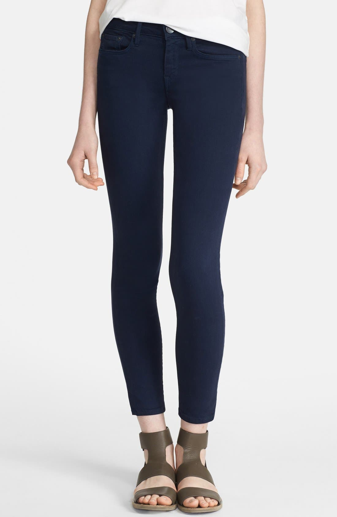 Main Image - Vince Colored Ankle Stretch Skinny Jeans