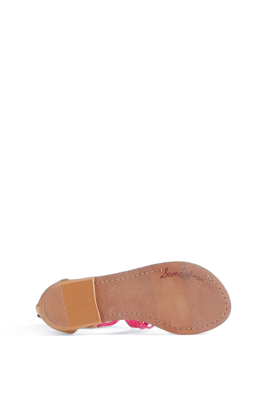Alternate Image 4  - Sam Edelman 'Grace' Sandal (Toddler, Little Kid & Big Kid)