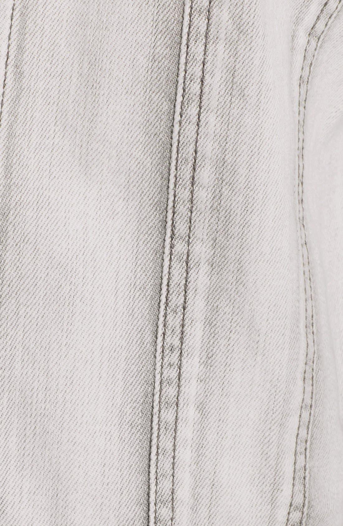 Alternate Image 3  - Leith 'Wedge' Denim Jacket