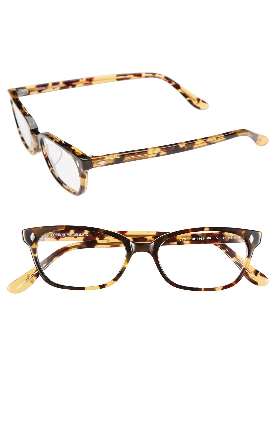 Main Image - Corinne McCormack 'Cyd' 50mm Reading Glasses