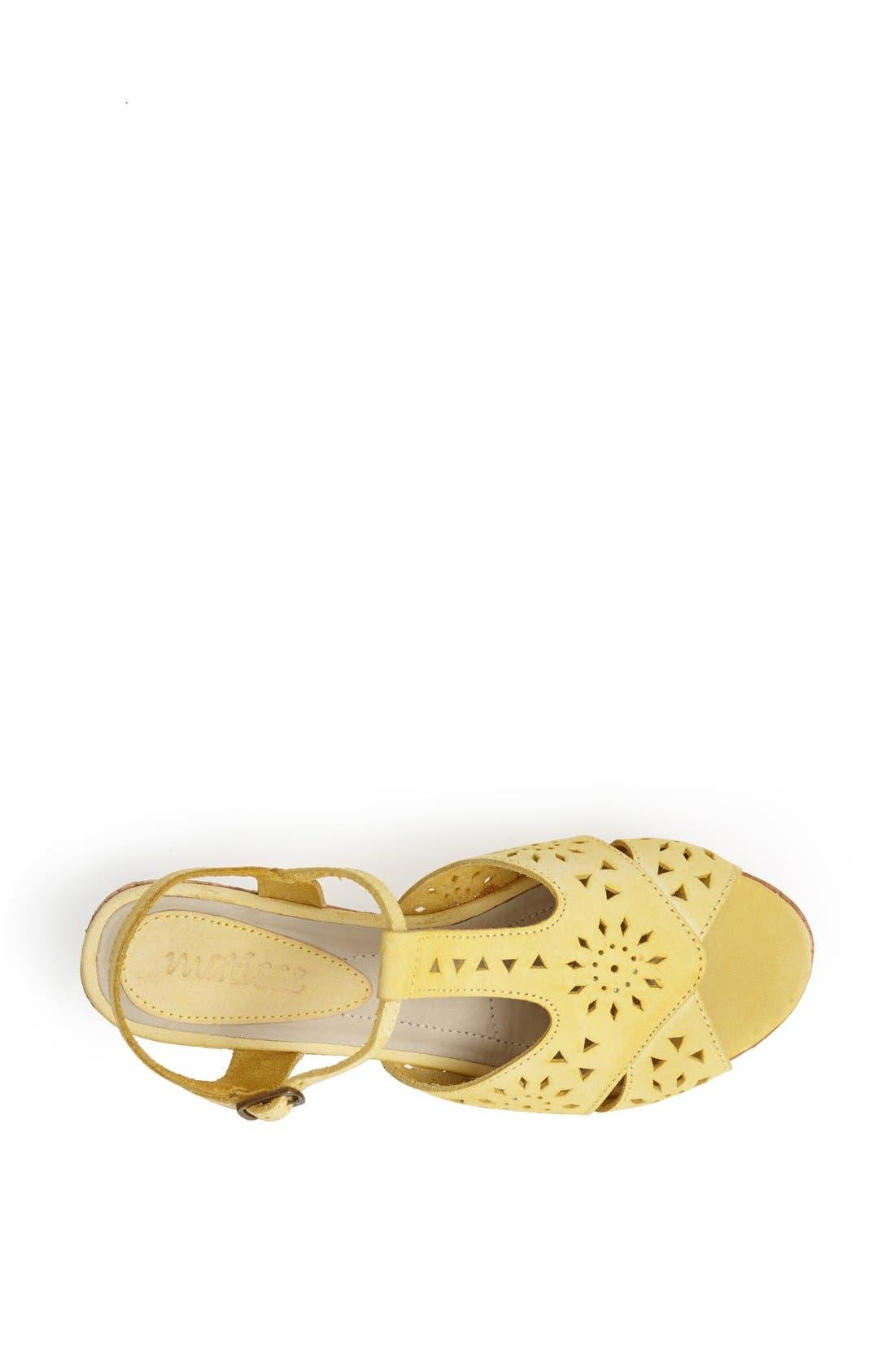 Alternate Image 3  - Matisse 'Sweet' Leather T-Strap Wedge Sandal
