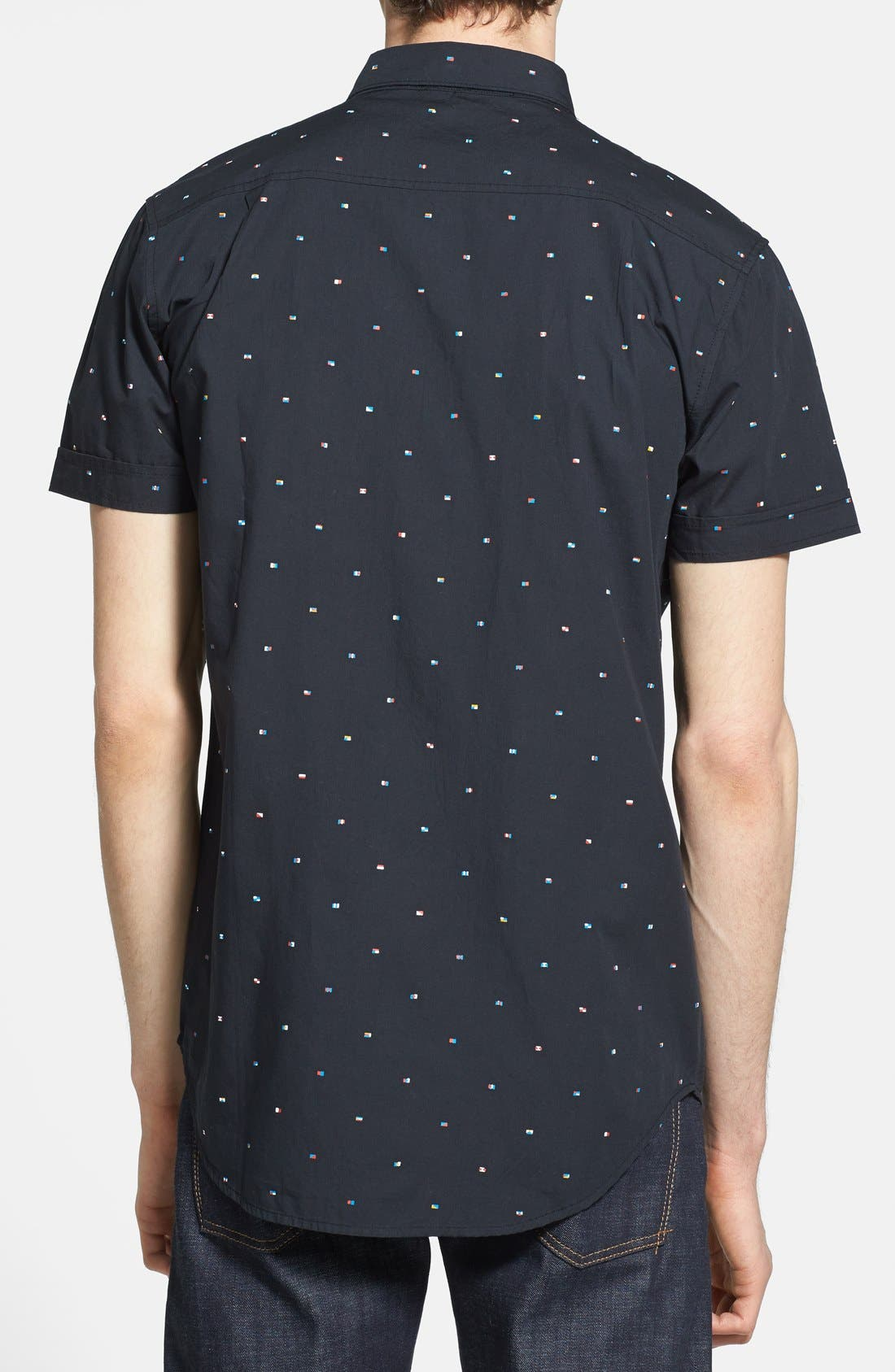 Alternate Image 3  - Globe 'Signal' Short Sleeve Print Shirt