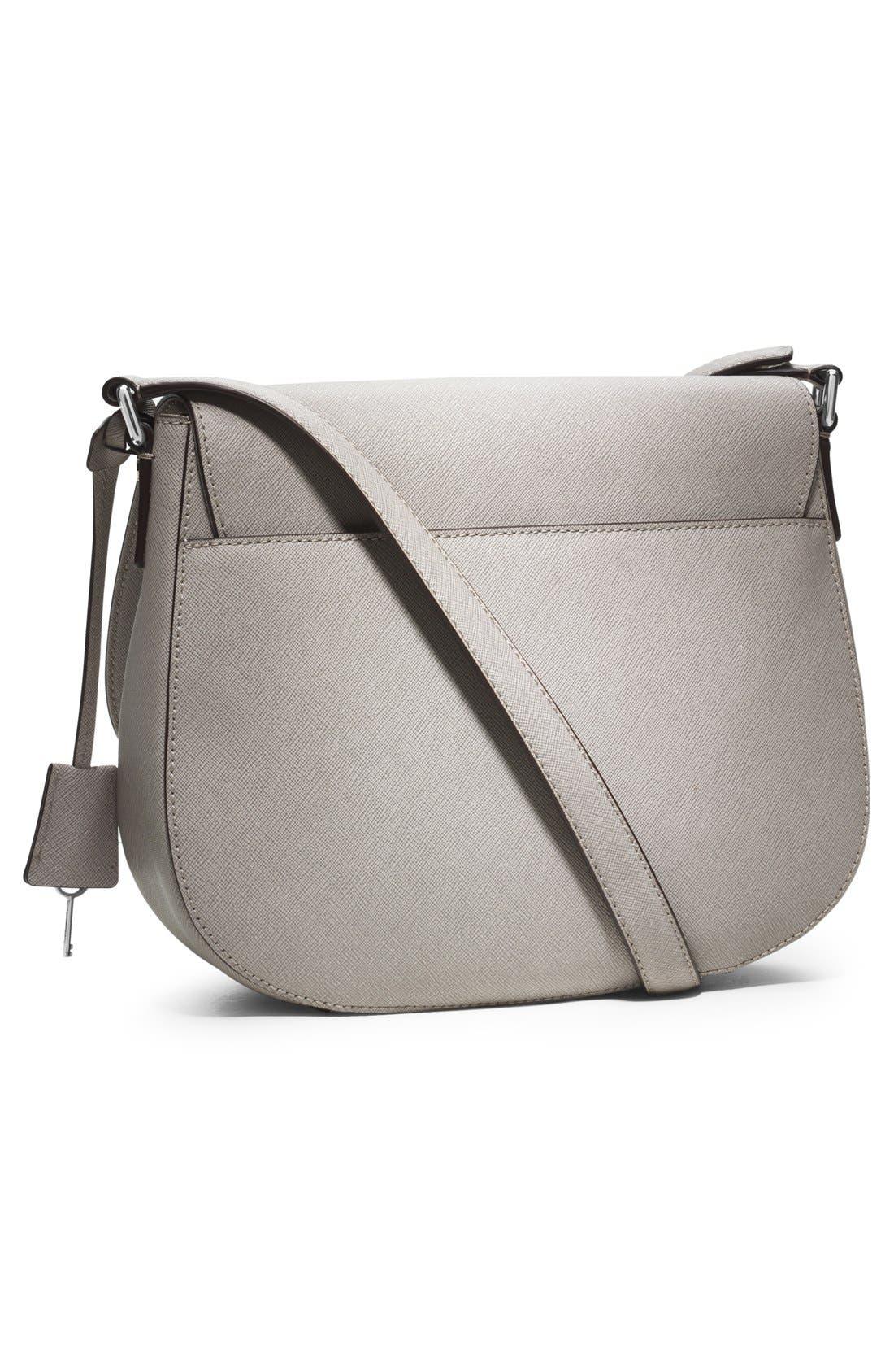 Alternate Image 4  - MICHAEL Michael Kors 'Large' Saffiano Leather Crossbody Bag