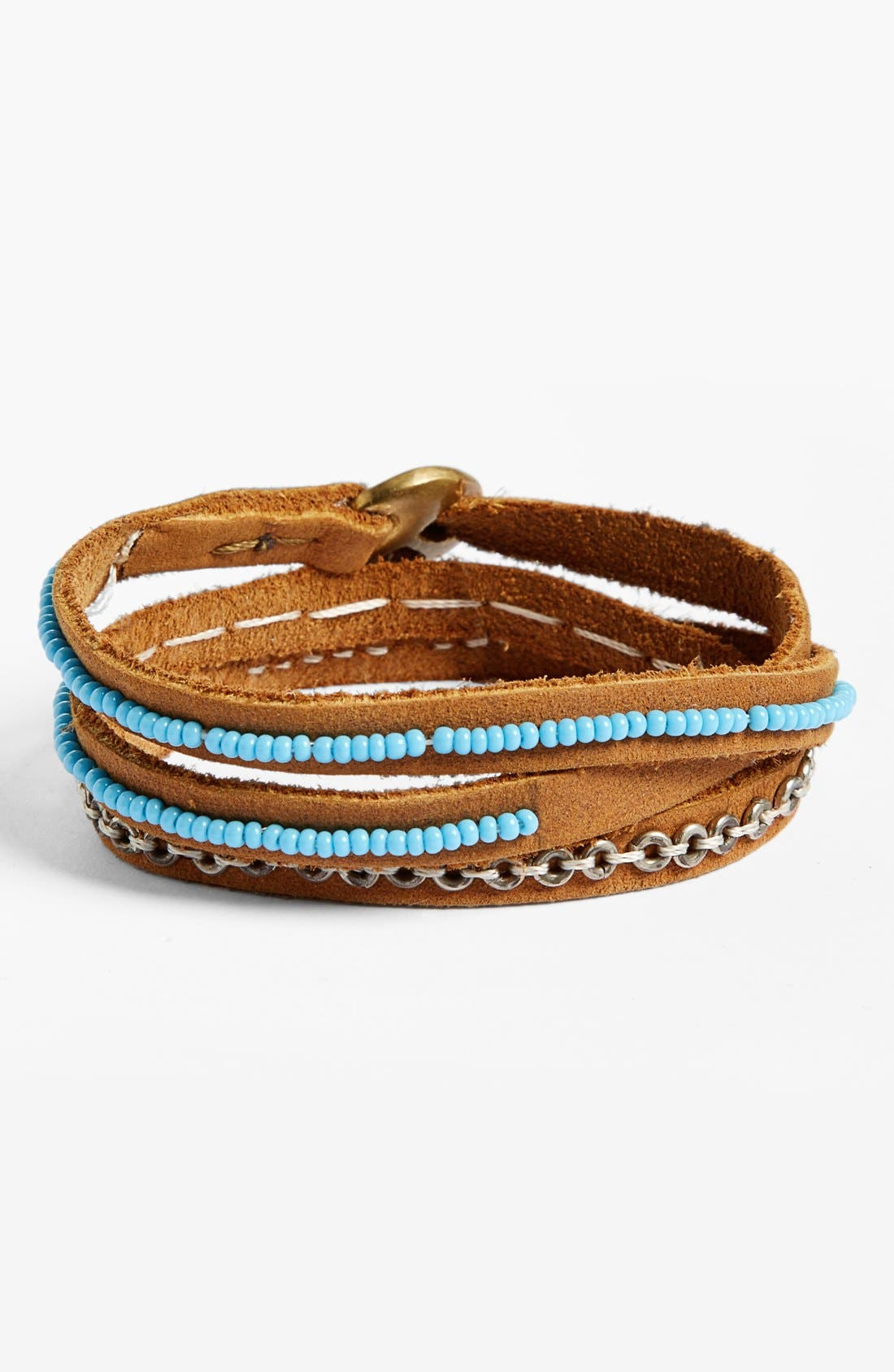 Alternate Image 1 Selected - Me to We Artisans Tatu Three-Wrap Bracelet (Juniors)