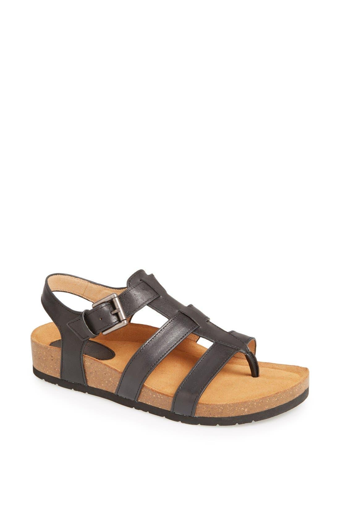 Alternate Image 1 Selected - Söfft 'Burdette' Leather Sandal