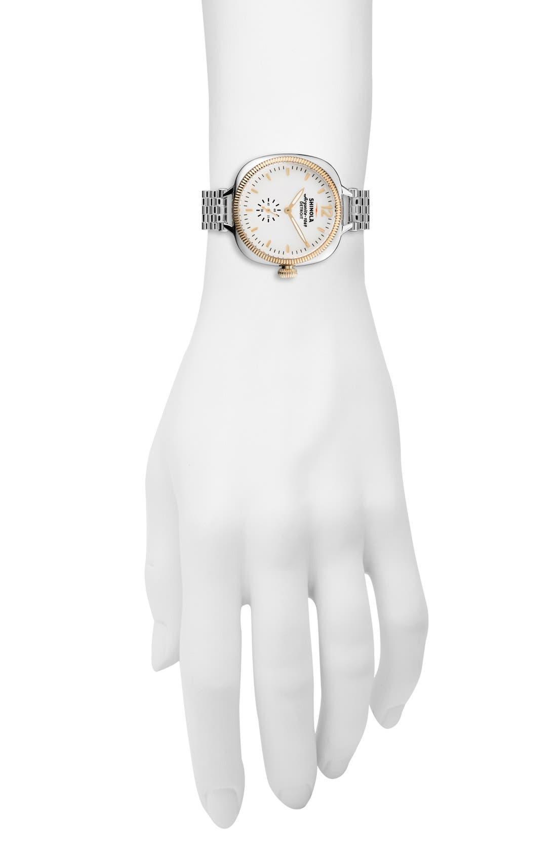 Alternate Image 4  - Shinola The Gomelsky Bracelet Watch, 36mm