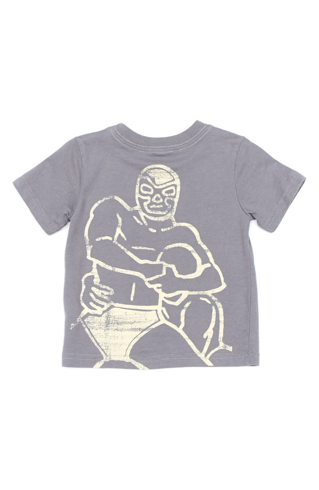 Alternate Image 2  - Peek 'Wrestling' Cotton T-Shirt (Baby Boys)