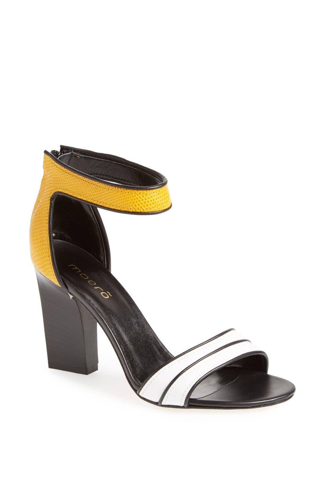 Alternate Image 1 Selected - Moero Snake Embossed Leather Sandal