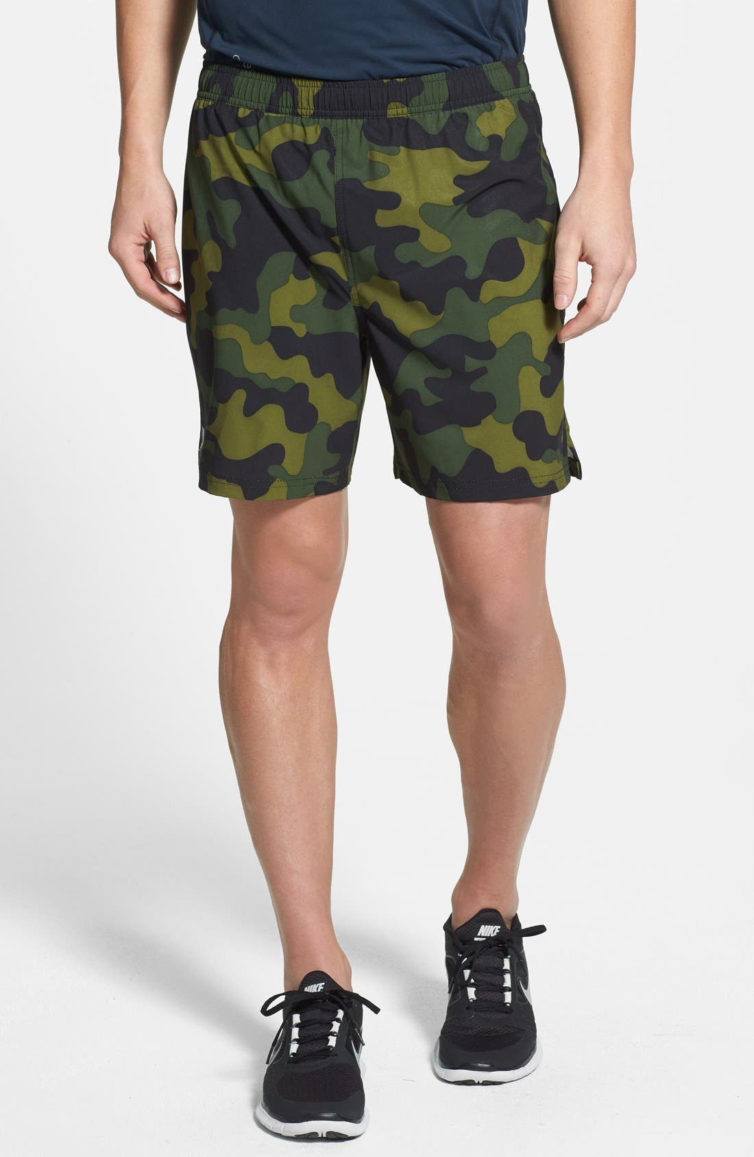 Alternate Image 1 Selected - Athletic Recon 'Black Ops' Stretch Woven Running Shorts